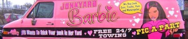 Junkyard Barbie